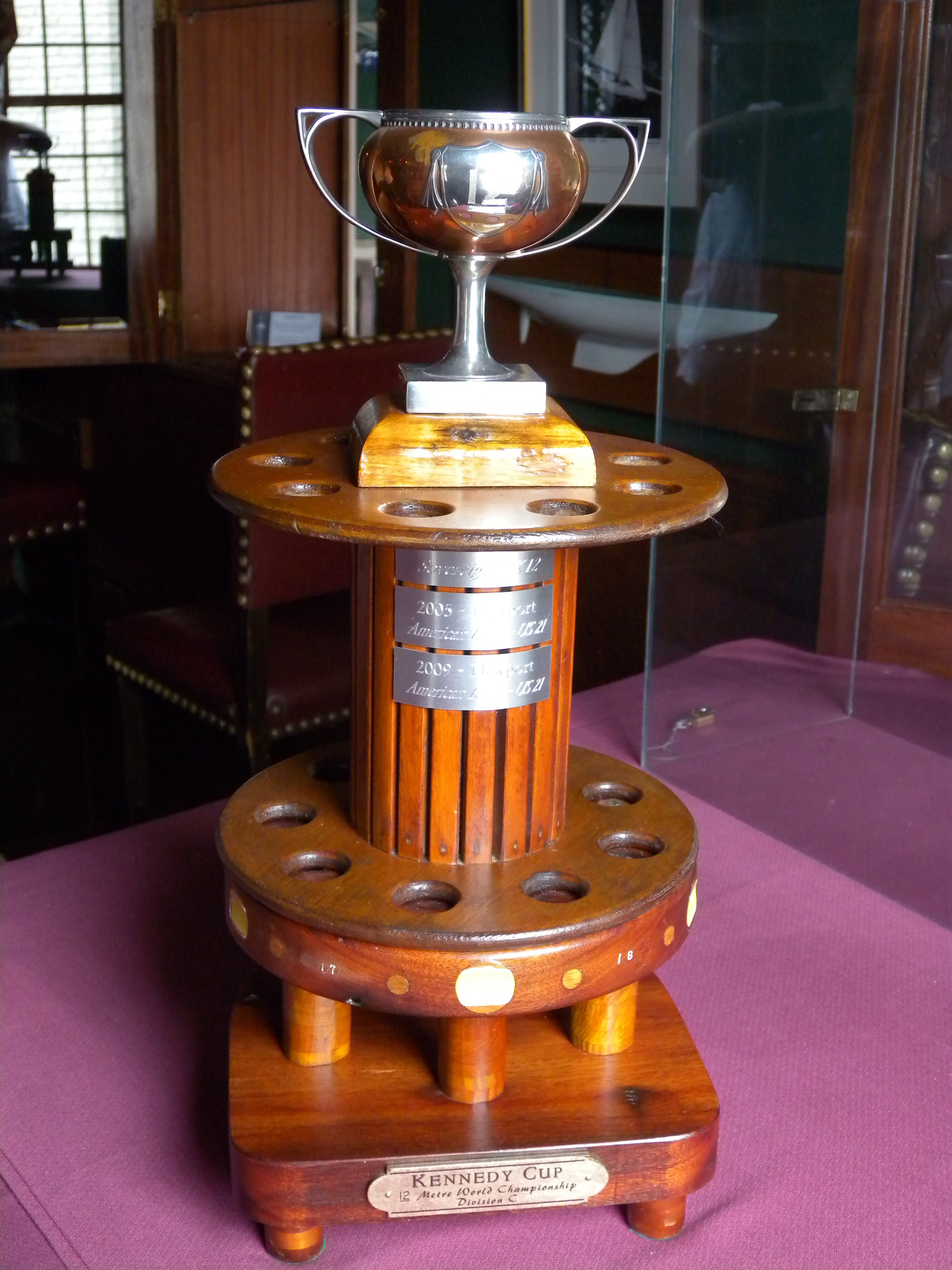 Kennedy Cup, 12 Metre World Championship Trophy